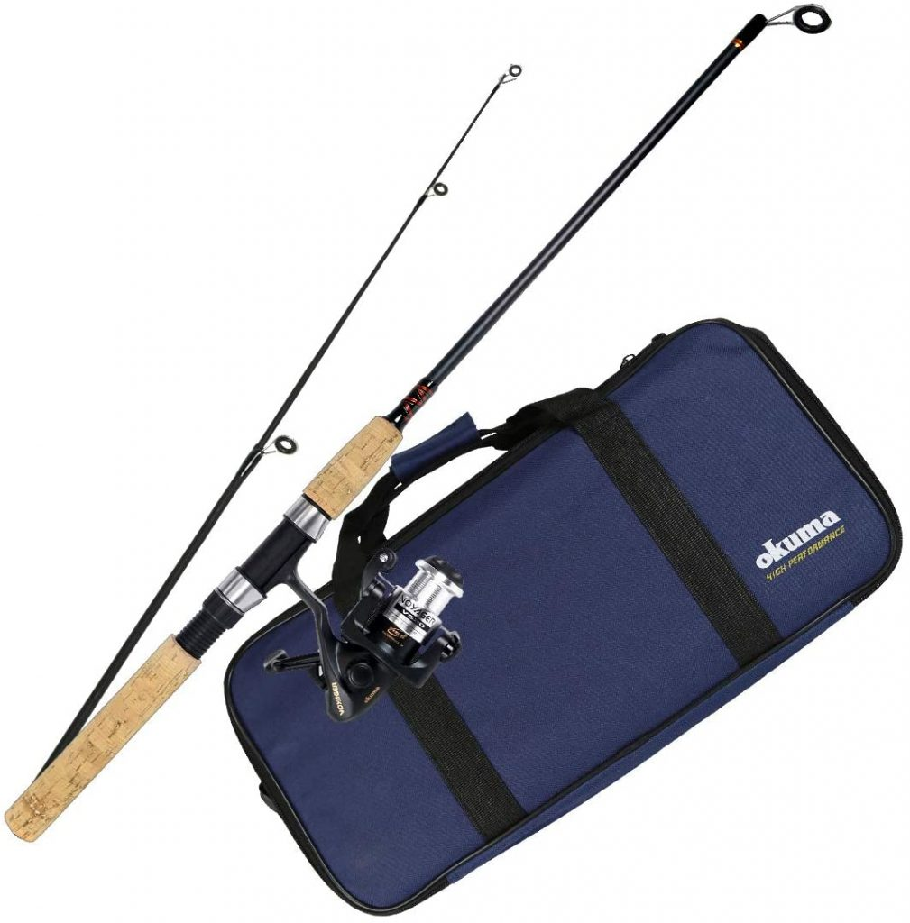 collapsible fishing pole for backpacking