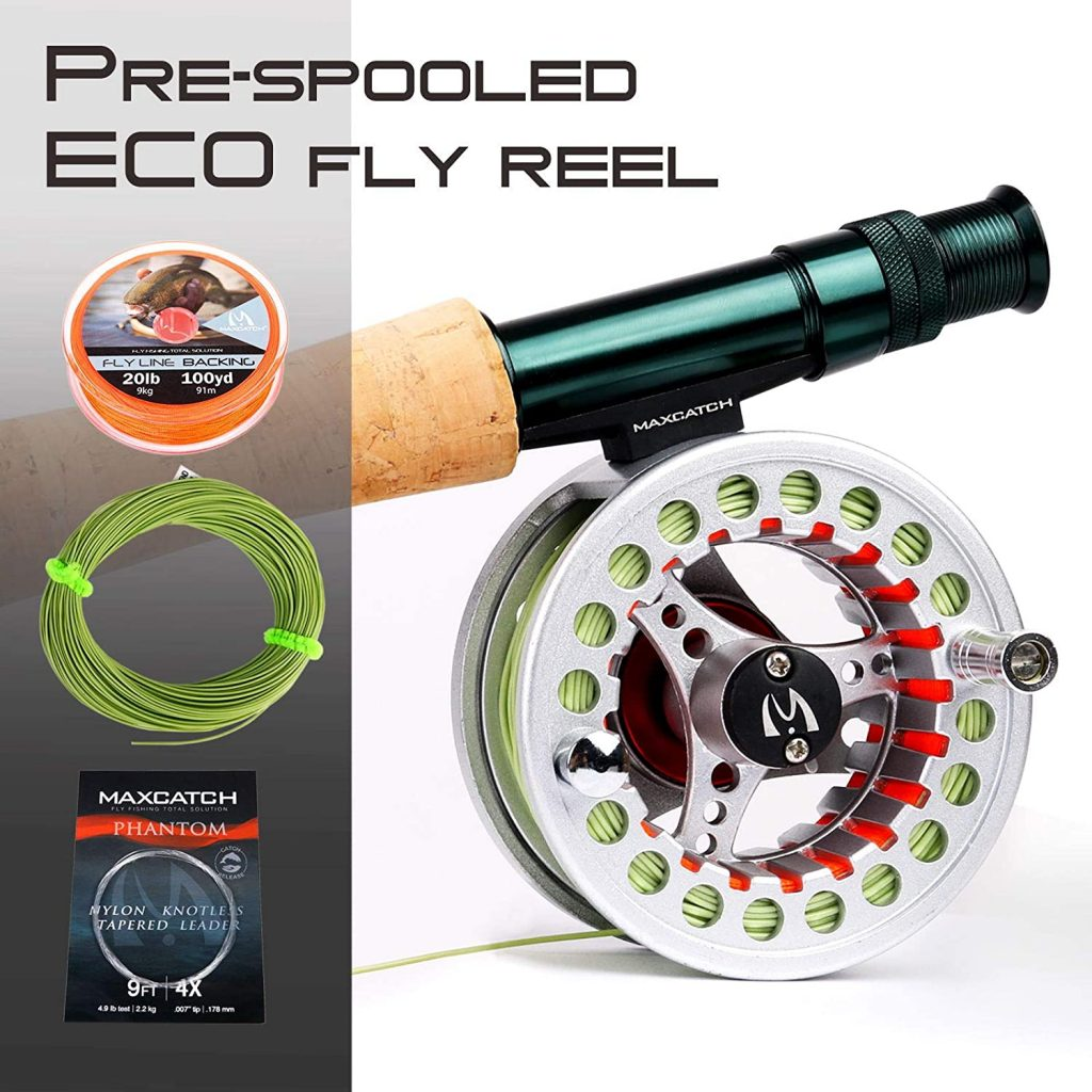best rod and reel for lake fishing
