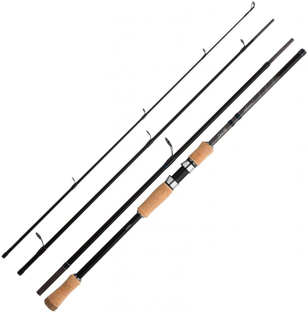 best saltwater travel spinning rods